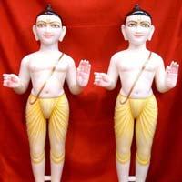 Swaminarayan Marble Statues