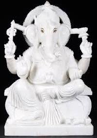 White Stone Marble Statues