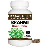Brahmi / Bacopa Monnieri Veg Capsules For Brain Power..