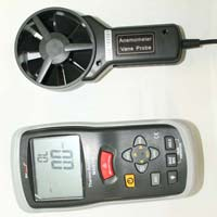 Marmonix Thermometer Anemometer with Infrared
