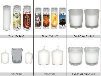 Glass Candles