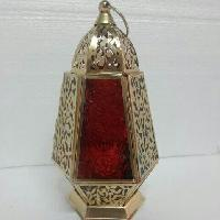 Moroccan lantern candle
