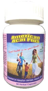 Hawaiian herbal american acai plus capsules