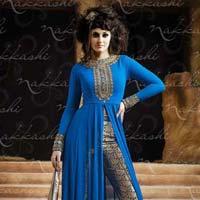 Georgette Resham Work Salwar Suit