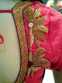 Jari Work Saree