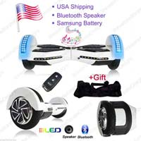 Self Balance Electric Scooter With Bluetooth Speaker Remote