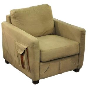 Canvas Couch With Pocket
