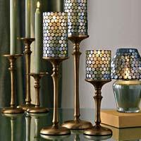 Aluminium Candle Pillar