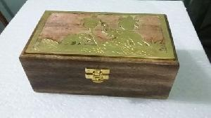 Brass Inlay Wooden Boxes