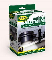 Black Outdoor Solar Led Light