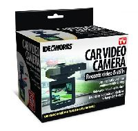 Car Video Camera W/memory Card