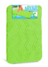 Green Microfiber Bath Mat