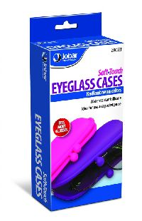 S/2 Soft Touch Eyeglass Cases