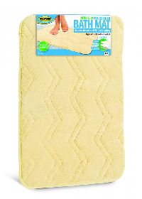 Tan Microfiber Bath Mat