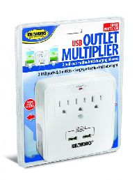 Usb Outlet W/pull-out Cradles