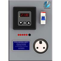 air conditioning control panel. intelligent air conditioner control panel conditioning