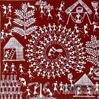 Warli Art Paintings