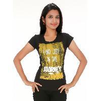 Black Joy Womens Wear T Shirts