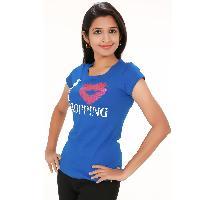 Blue Shop Womens Wear T Shirts
