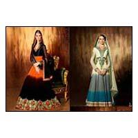 Heavy Long Anarkali Semi Stitch Salwar Suit