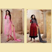 Unique Party Wear Georgette Style Salwar Suit