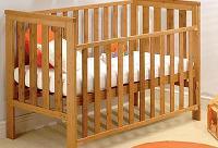 Bamboo Baby Cot