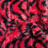 Fake Fur Fabric 20 Mm Imported Printed