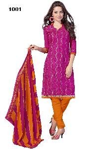 Cadbury Designer Silk Churidar Suits