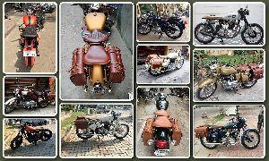 Vintage Royal Enfield Motorcycle