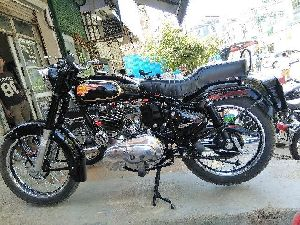 Royal Enfield Bullet Painting Services