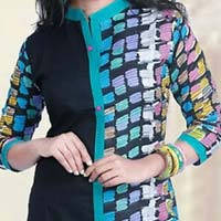 Lucknowi Chikan Cotton Kurtis