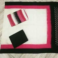 Pochampally double ikkath dress Materials.