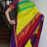 Pochampally ikkath silk saree.