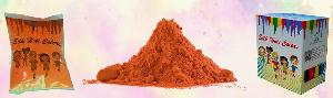 Cosmetic Silk Orange Holi Colors