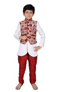 Kids Indo Western Waistcoat