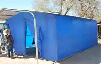 Emergency And Disaster Relief Tarpaulin Shed Rental Services