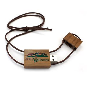 Usb Pendrive In Wooden Style