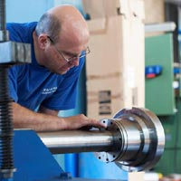 Hydraulic Rolling Machine Repairing