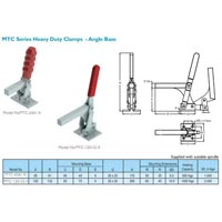 MTC Series Heau Duty Clamp - Angle Base