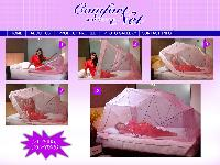 Comfortnet Mosquito bed Net for king / Queen bed size