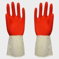 Double Colour Hand Gloves