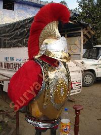 Body Armor With Helmet