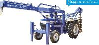 Hydraulic Crane & Post Hole Digger