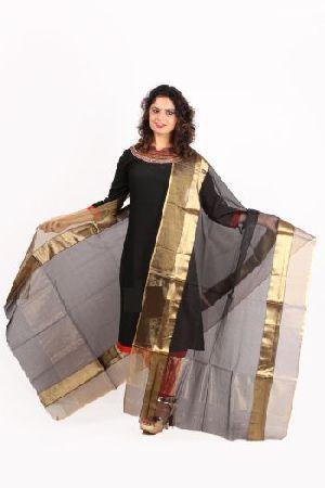 Maheshwari Handloom Silk Dupatta