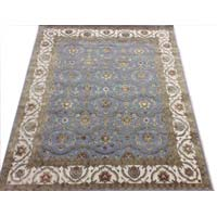 10/10 Hand Knotted Wool Silk Carpets