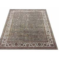 13/13 Hand Knotted Wool Silk Carpets