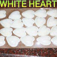 Sugar White Heart
