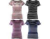 Ladies Striped T Shirt