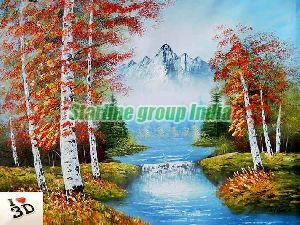Painting Customized Wallpaper 03