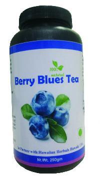 Hawaiian herbal berry blues tea